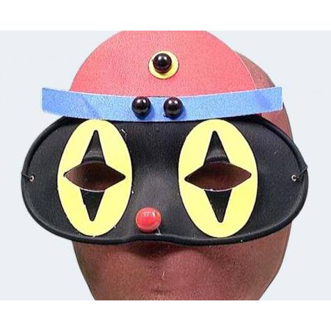 Image of   Domino klovne maske