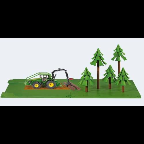 Image of Siku World skov sæt med traktor (4006874056057)