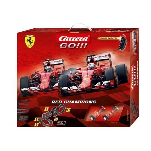 Image of   Carrera GO!!! Racerbane Red Champions
