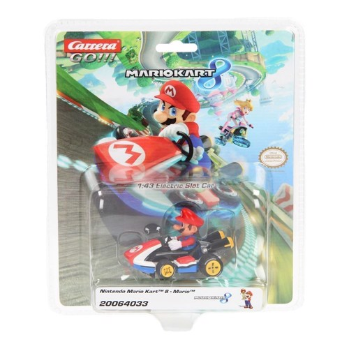 Image of   Carrera GO!!! Racer bil Mario