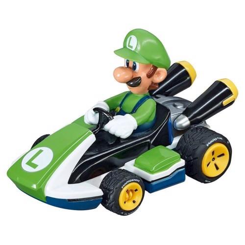 Image of   Carrera GO!!! Racer bil med Luigi til racerbane