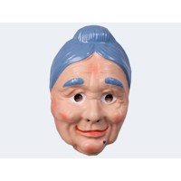 Mask of old woman for adult
