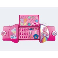 Barbie makeup set handbag