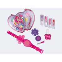 Barbie makeup set double heart