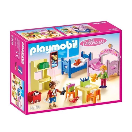 Image of Playmobil 5306 Børneværelse (4008789053060)