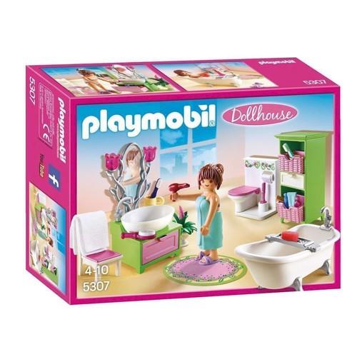 Image of Playmobil 5307 Badeværelse med badekar (4008789053077)