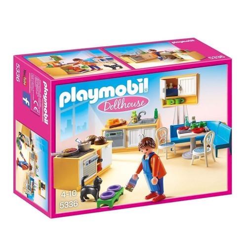 Image of Playmobil 5336 Køkken med siddeplads (4008789053367)