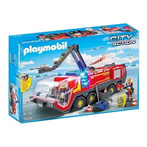 Image of Playmobil 5337 lufthavns brandbil med lys og lyd (4008789053374)