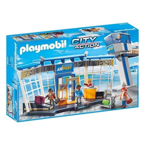 Image of Playmobil 5338 lufthavn kontroltårn (4008789053381)