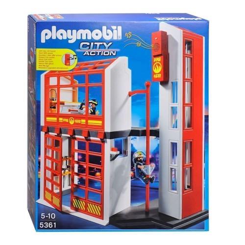 Image of Playmobil 5361 Brandstation med alarm (4008789053619)