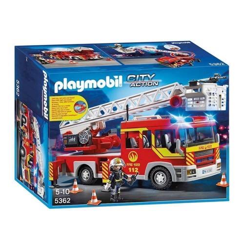 Image of Playmobil 5362 Brandbil med stige, blink og lyd (4008789053626)