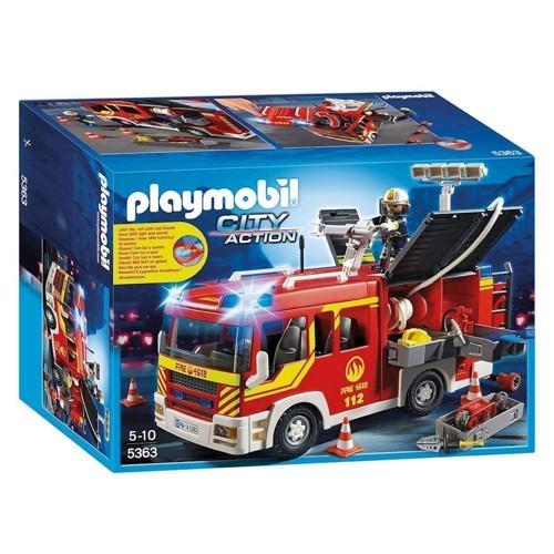 Image of Playmobil 5363 Brandbil med blink og lyd (4008789053633)