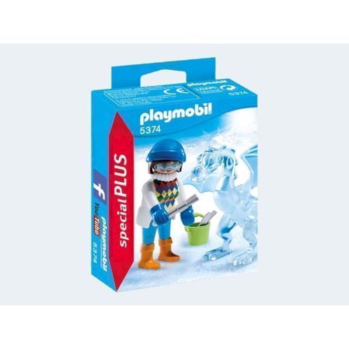 Image of Playmobil 5374 artist with ice sculpture (4008789053749)
