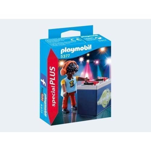 Image of Playmobil 5377 DJ (4008789053770)