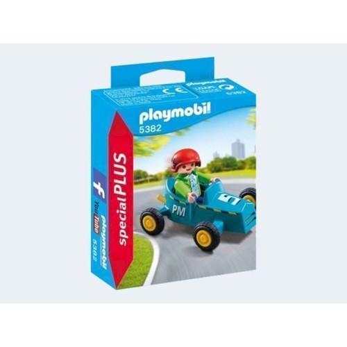 Image of Playmobil 5382 Dreng med Gokart (4008789053824)