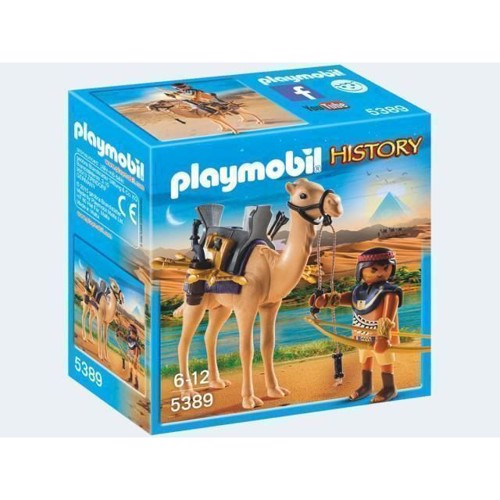 Image of   Playmobil 5389 Egyptisk Kriger med kamel