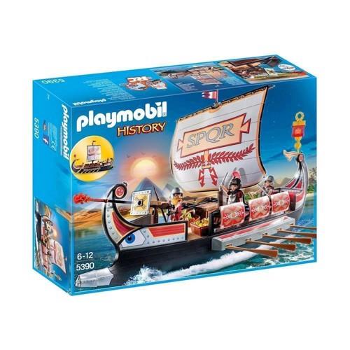 Image of Playmobil 5390 Romersk krigsskib (4008789053909)