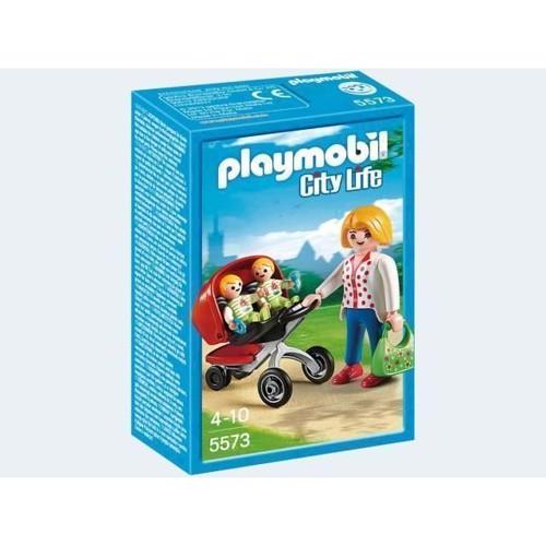 Image of Playmobil 5573 Mor med Tvillingeklapvogn (4008789055736)