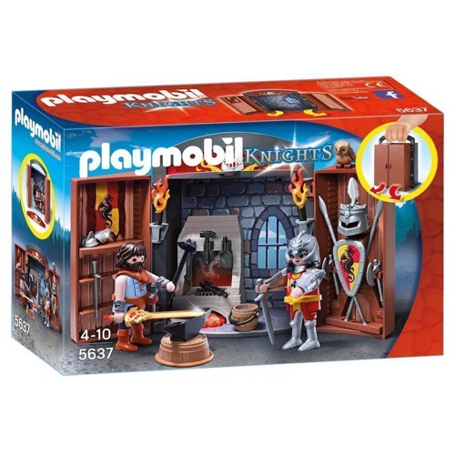 Image of Playmobil Knights 5637 ridder og smed (4008789056375)