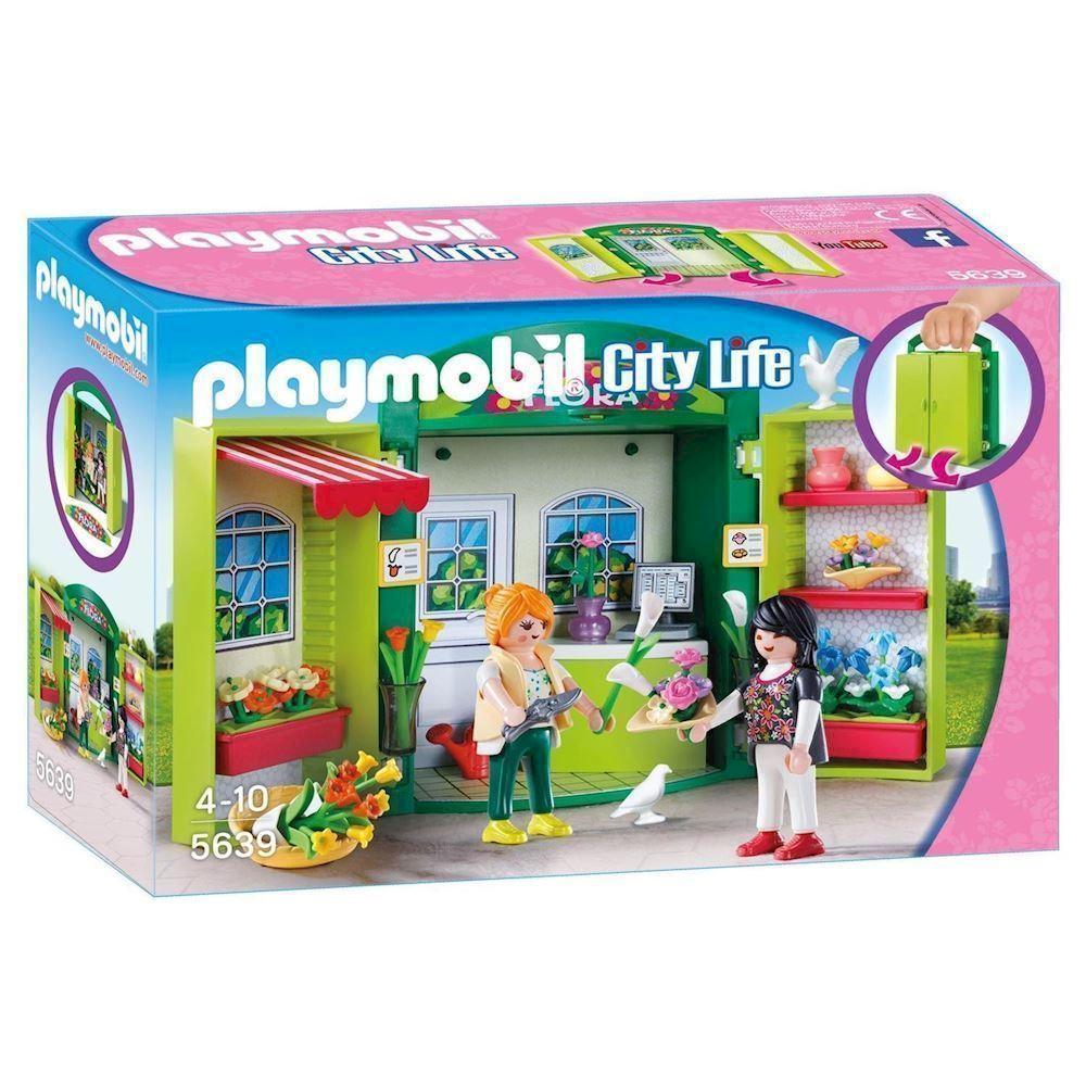 playmobil city life 5639 blomster butik køber du billigt her