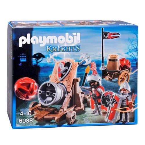 Image of Playmobil 6038 Høgeridderes Kampkanon (4008789060389)