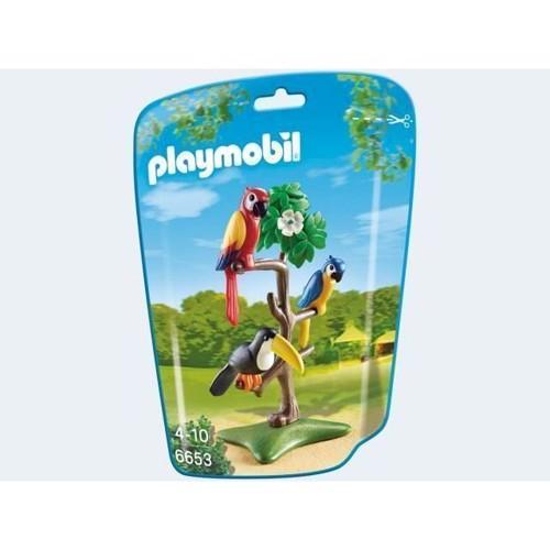 Image of   Playmobil 6653 Papegøjer og Tukan