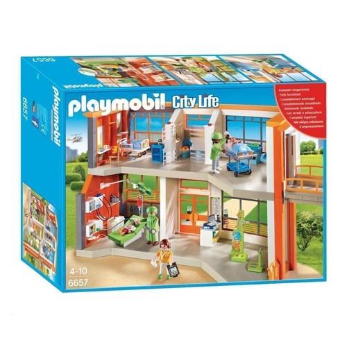 Image of Playmobil 6657 Børnehospital (4008789066572)
