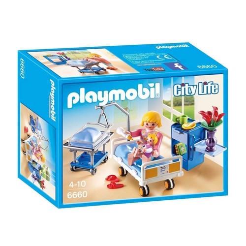 Image of Playmobil 6660 Sygeværelse med vugge (4008789066602)