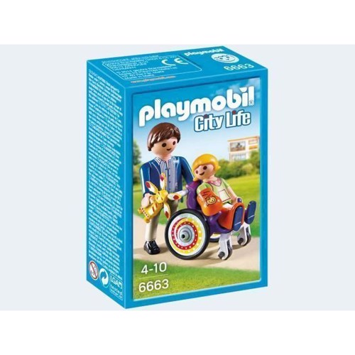 Image of   Playmobil 6663 Child in Wheelchair