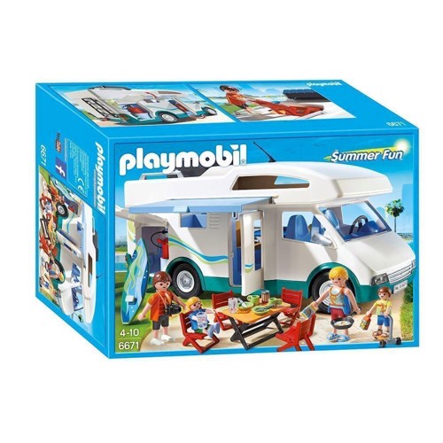 Image of Playmobil 6671 Autocamper (4008789066718)