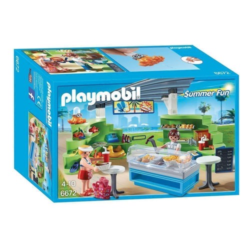 Image of Playmobil 6672 Butik med snackbar (4008789066725)