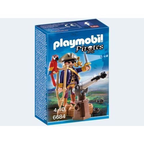 Image of   Playmobil 6684 Piratkaptajn