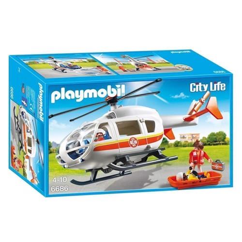 Image of Playmobil 6686 Medevac (4008789066862)