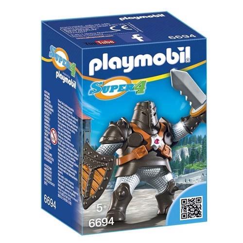 Image of Playmobil 6694 Super 4 Black Colossus (4008789066947)
