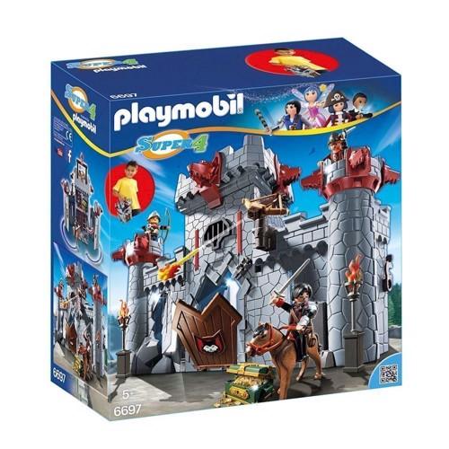 Image of Playmobil 6697 Super 4 Ridderfæstning til at tage med (4008789066978)