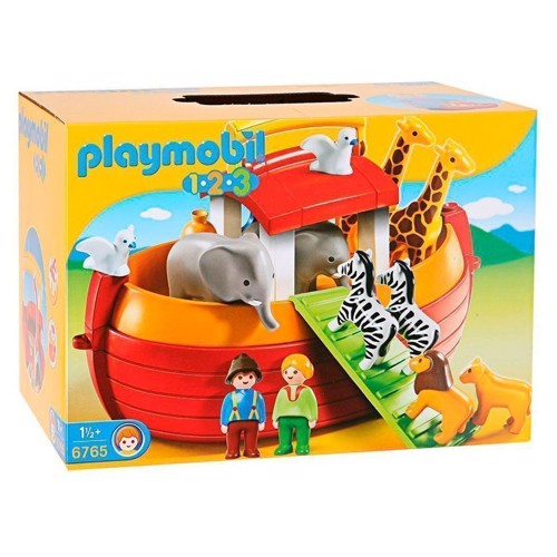 Image of Playmobil 1.2.3 6765 Noahs ark (4008789067654)