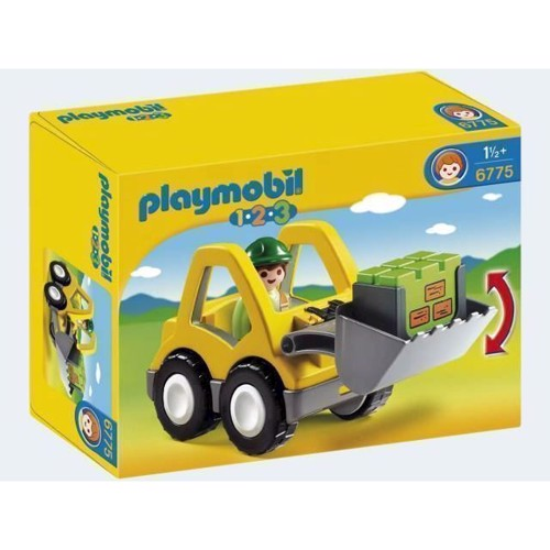 Image of Playmobil 6775 Excavator With Workman