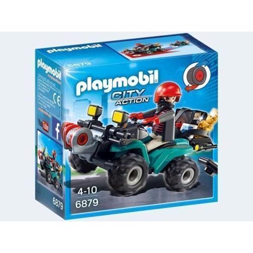 Image of Playmobil 6879 Bandit På Atv (4008789068798)