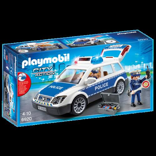Image of Playmobil 6920 Politibil, Politipatrulje Med Lys & Lyd