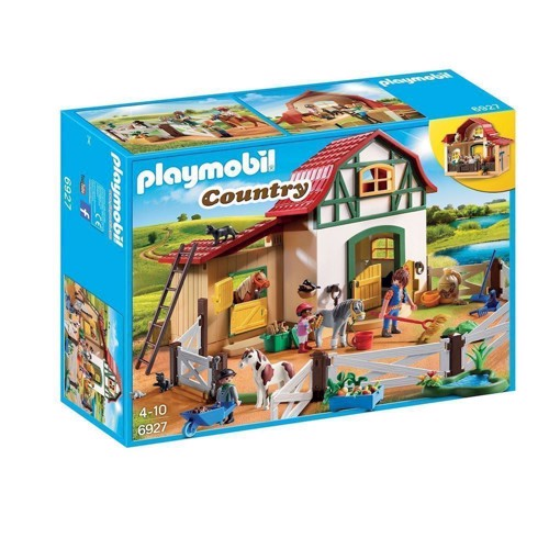 Image of PLAYMOBIL 6927 ponyfarm (4008789069276)