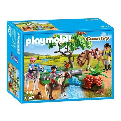 Image of Playmobil Pony riding lesson 6947 (4008789069474)