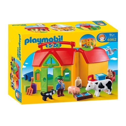 Image of Playmobil 6962 Rejsebondegård (4008789069627)