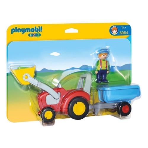 Image of Playmobil 6964 Traktor med anhænger (4008789069641)