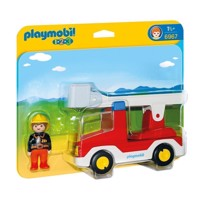 6967 Playmobil fire engine with Ladder