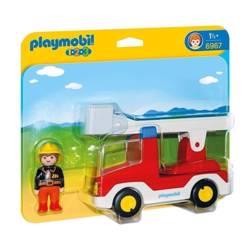 Image of Playmobil 6967 brandbil med stige (4008789069672)