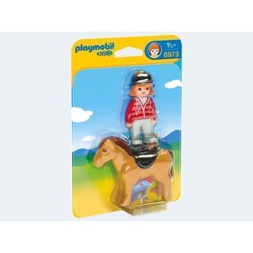 Image of Playmobil 6973 Rytter med hest (4008789069733)