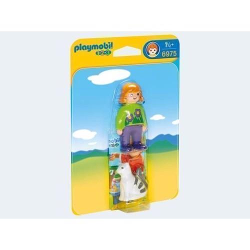 Image of Playmobil 6975 Dyrepasser med kat (4008789069757)
