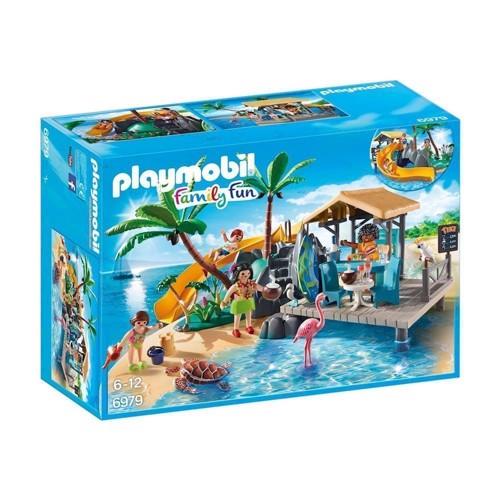 Image of Playmobil 6979 Ferie ø med juicebar (4008789069795)