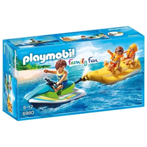 Image of Playmobil 6980 Vandscooter med bananbåd (4008789069801)