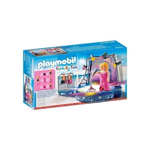 Image of Playmobil 6983 Sanger med scene (4008789069832)